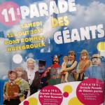 11 eme parade des géants à hazebrouck