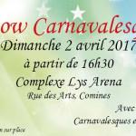 BAL DE CARNAVAL 2017 DE COMINES