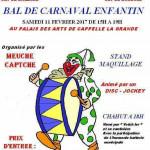 BAL DE CARNAVAL DE CAPELLE LA GRANDE 2017