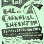 BAL DE CARNAVAL DES ENFANTS DE SAINT POL SUR MER 2017 DES COOTCHES