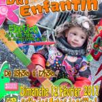 BAL DE CARNAVAL ENFANTIN DE LA QUETE DU GRAS 2017  DE BAILLEUL