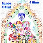 BAL DU 03 FEVRIER  ET BANDE DU 9 AVRIL 2017 DES PEULEMEUCHES D'HOYMILLE