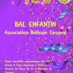 BAL ENFANTIN DE BETHUNE CARNAVAL 2017
