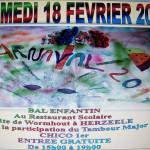 BAL ENFANTIN DE L42COLE VAL D'YSER 2017