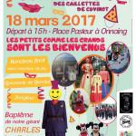 CARNAVAL 2017 DES GAILLETTES DE CUVINOT DE ONNAING