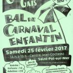 CARNAVAL DES ENFANTIN 2017 DE SAT POM SUR MER DES COOT CHES