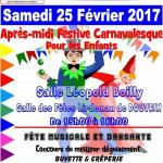 CARNAVAL ENFANTIN DE DOUVRAIN 2017