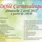 DEFILE CARNAVALESQUE DE COMINES 2017