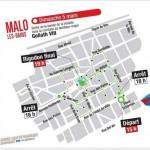 ITINERAIRE DE LA BANDE DE MALO LES BAINS 2017