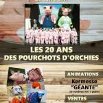 LES 20 ANS DES POURCHOTS D'ORCHIES 2017