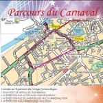 PARCOURS DU CARNAVAL DE COMINES 2017