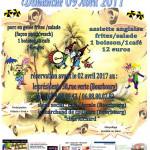 REPAS D4AVANT BANDE DE BOURBOURG 2017