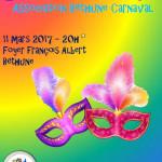 SOIREE DE CARNAVALESQUE BETHUNE CARNAVAL 2017