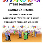 THE DANSANT DU CARNAVAL DE MULHOUSE 2017