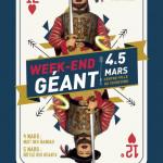 WEEN-END DES GEANTS 4 ET 5 MARS 2017 TOURCOING